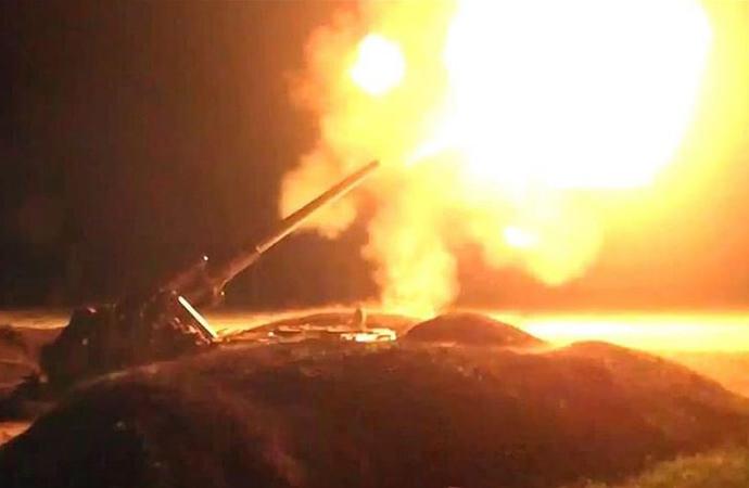 Ermenistan-Azerbaycan cephe hattında çatışmalar gece boyu devam etti