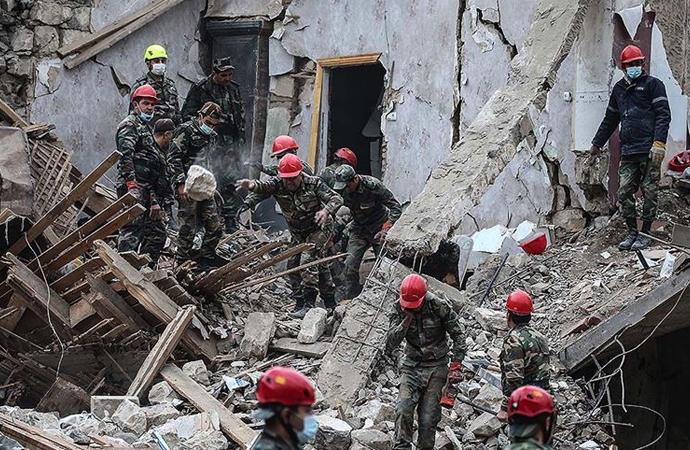 Ateşkesin ardından Ermenistan sivilleri bombaladı