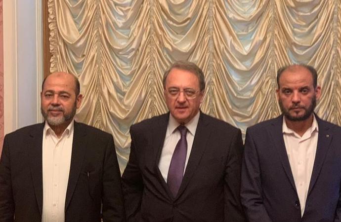 Hamas heyeti Moskova ziyaretini tamamladı