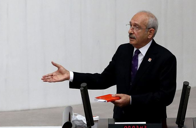 Berberoğlu kararına Kılıçdaroğlu'ndan Meclis'te tepki