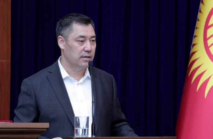 Kırgız Parlamentosu Caparov'u başbakan seçti