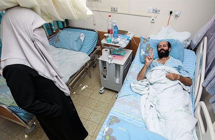 Filistinli tutuklu Ahres: Bu işgal devletinin kararlarına boyun eğmeyi reddediyorum