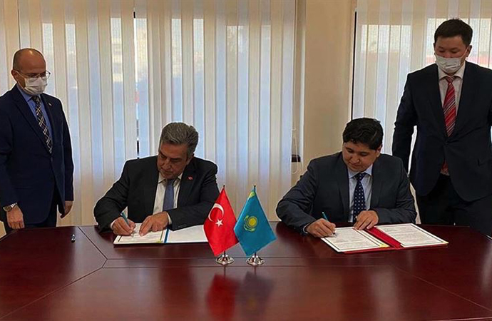 Türkiye ile Kazakistan arasında uzay alanında iş birliği mutabakatı