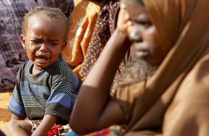 Açlık, en çok Afrika ülkelerini vuruyor