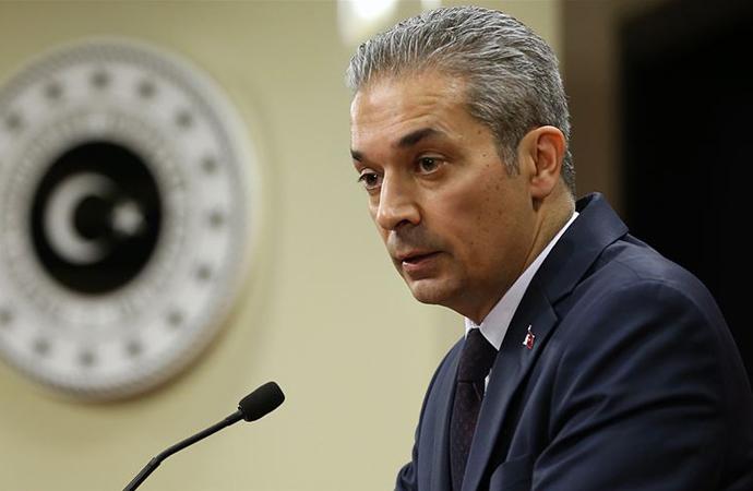 Yunan Bakanın Ermenistan'da sarf ettiği sözlere tepki