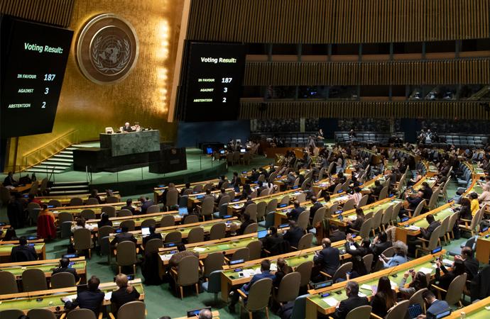 Birleşmiş Milletler'in 2007'den beri İran'a uyguladığı silah ambargosu kaldırıldı