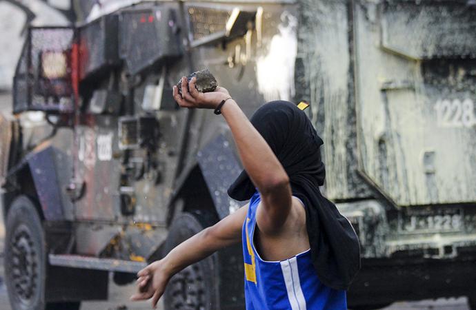 Şili'de protestoların yıl dönümü yaklaşıyor, tansiyon yükseliyor