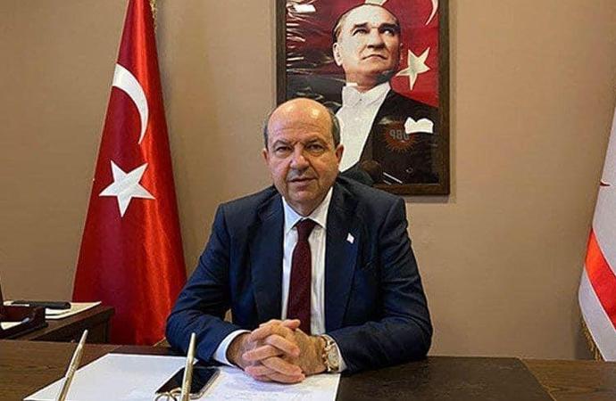 KKTC Cumhurbaşkanı Tatar'dan teşekkür konuşması