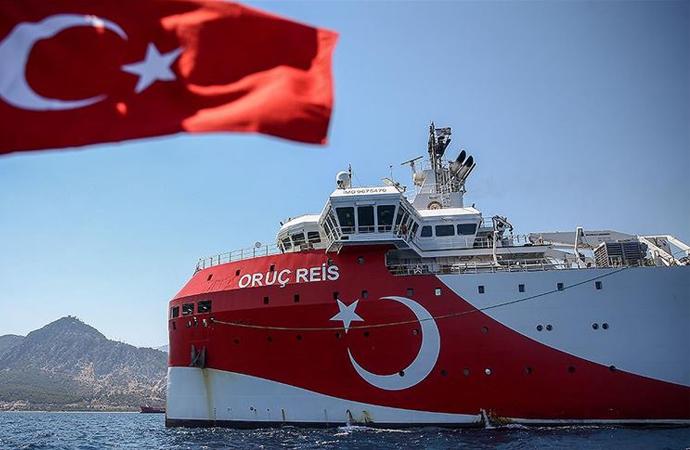 Oruç Reis'in çalışma süresi 27 Ekim'e uzatıldı