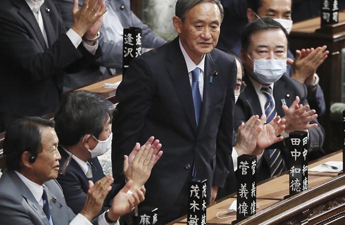 Japonya Başbakanı, Amerikalı amirali kabulünde konuştu