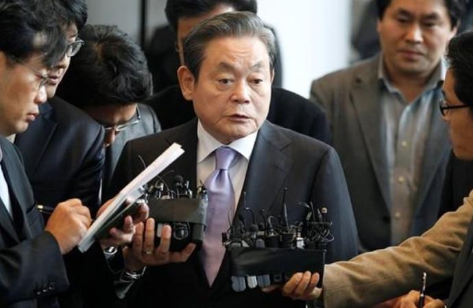 Samsung Yönetim Kurulu Başkanı yaşamını yitirdi