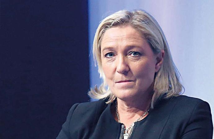 """Le Pen: """"Biz bu savaşı İslamcılığa karşı ilan ediyoruz"""""""