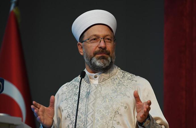 """Erbaş: """"Kur'an'ın ana amacı 'iyi insan' yetiştirmek"""""""
