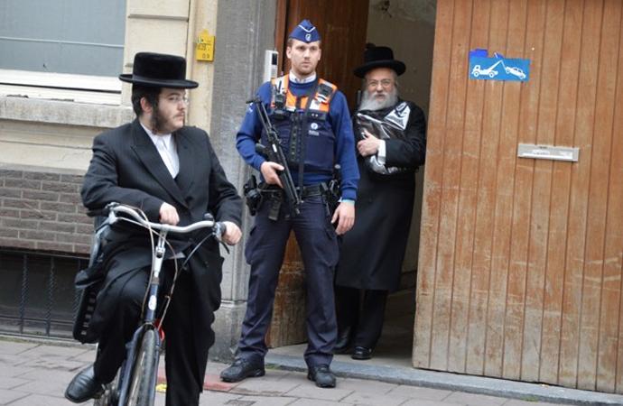 Avrupa'daki Yahudi nüfusun dağılımı