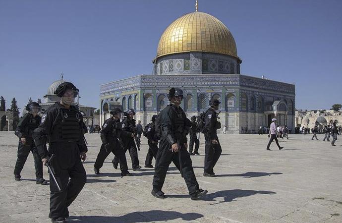 Filistinli gruplar: İsrail'in Aksa ve Kudüs'e yönelik saldırganlığı arttı