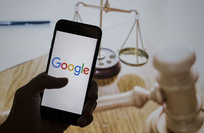 ABD'de Google'a açılan tarihi dava