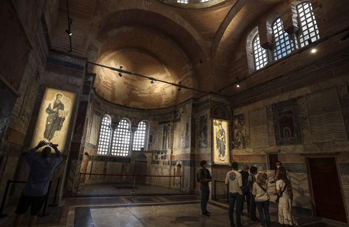 1945'te müze yapılan Kariye Camii 72 yıl sonra açılıyor