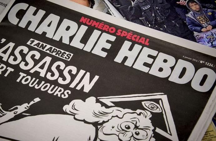 Erdoğan'ı hedef alan Charlie Hebdo'ya tepkiler