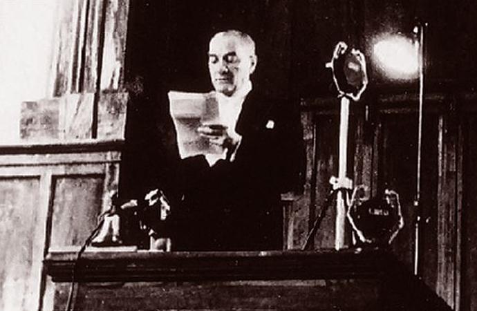 Cumhuriyet'in ilanı ve Atatürk'ün cumhurbaşkanı olarak ilk konuşması