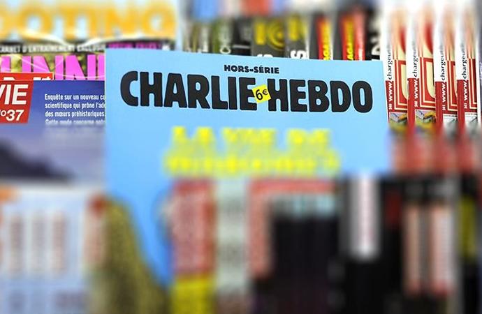 Charlie Hebdo yetkilileri hakkında Cumhurbaşkanına hakaretten soruşturma başlatıldı