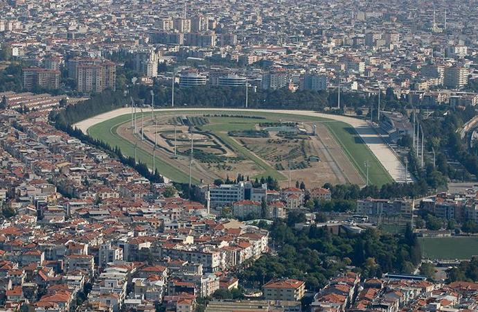 İzmir Şirinyer Hipodromu halkın kullanımına açıldı