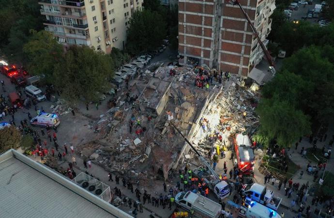 Deprem kurtarma çalışmalarında son durum