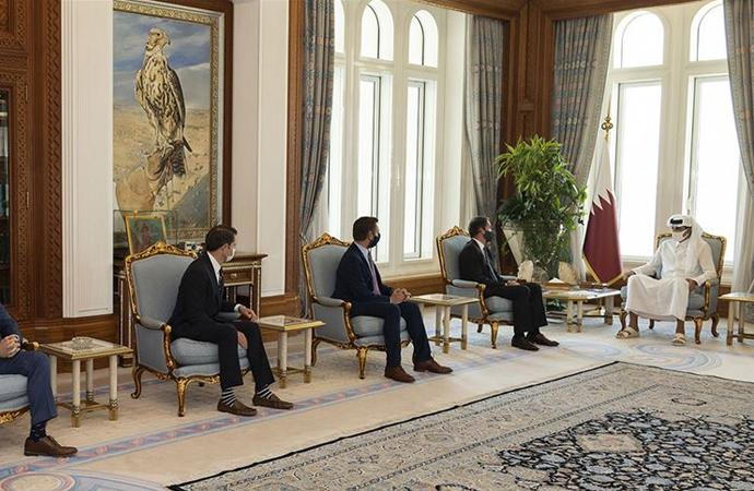Amerikan heyeti Katar'da stratejik görüşmeler yapıyor