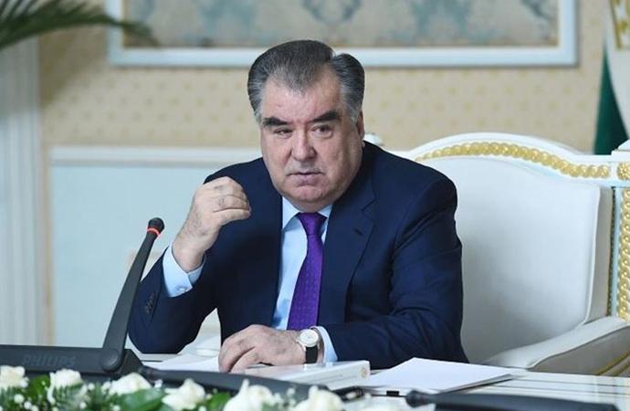 Tacikistan'da İmamali Rahman yüzde 91'le, 5. kez cumhurbaşkanı seçildi