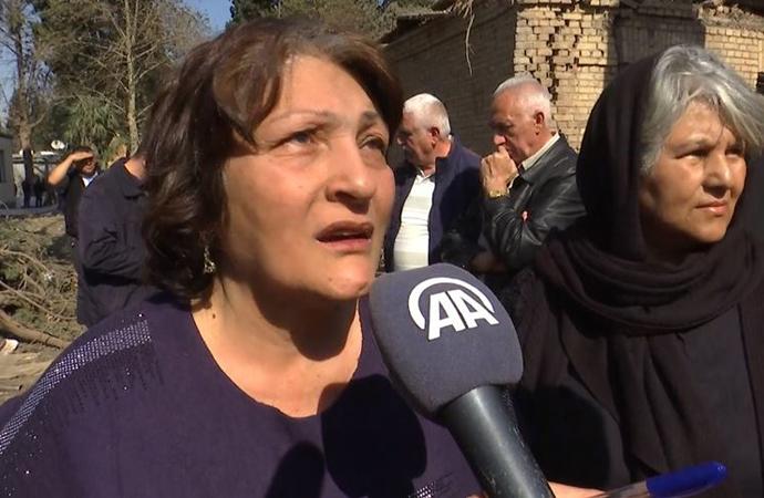 Azeri annelerden Ermeni annelere 'Çocuklarınızı Karabağ'dan çekin' çağrısı