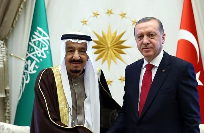 Erdoğan, Suudi Kralı Selman ile telefonda görüştü