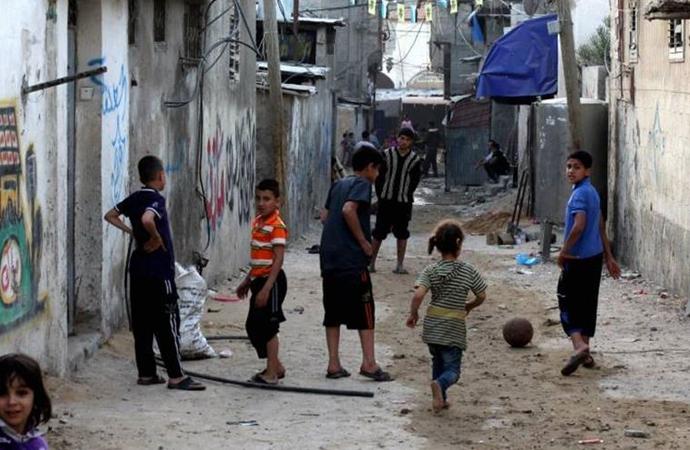 Gazze halkının %85'i fakirlik sınırının altında yaşıyor