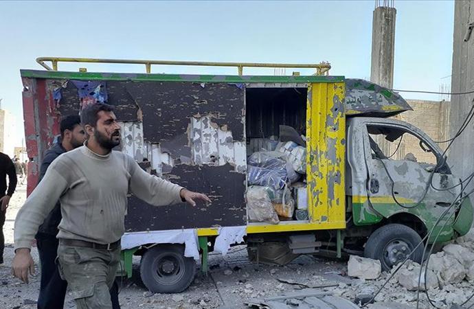 el-Bab'da bombalı terör saldırısı: 5 ölü 18 yaralı
