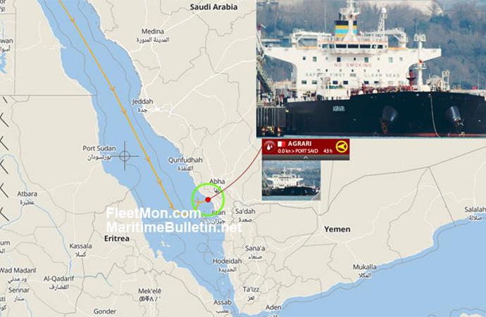Kızıldeniz kıyısında Suudi petrol tankerine bombalı saldırı
