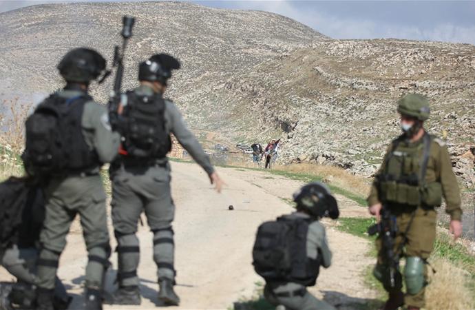 İsrail askerlerinin 'kanlı eğlencesi'