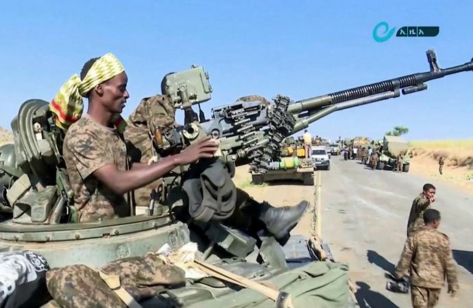 Etiyopya ordusu: Mekelle çevresindeki stratejik noktalar ele geçirildi