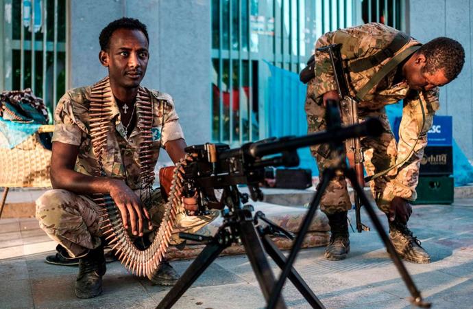 Etiyopya ordusu Mekele'yi ele geçirdi