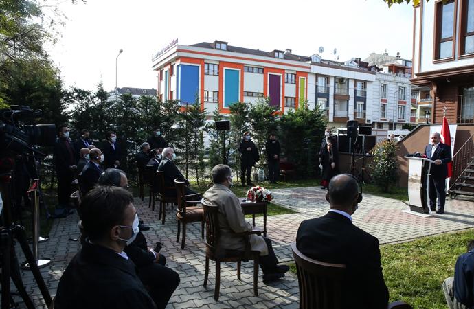 Parlamenterler Arası Kudüs Platformu'nun yeni binası törenle açıldı
