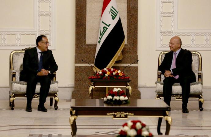 Mısır ile Irak arasında, 15 alanda işbirliği protokolü imzalandı