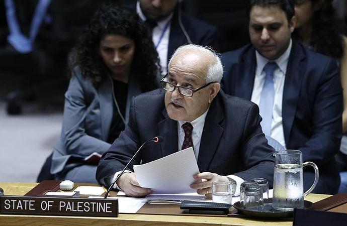 Filistin temsilcisi, İsrail'in yıkımlarını BM yetkililerine şikayet etti