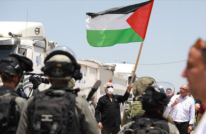 Filistin yönetiminin İsrail kararına tepkiler