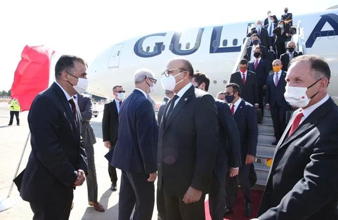 Bahreyn Dışişleri Bakanı İsrail'de