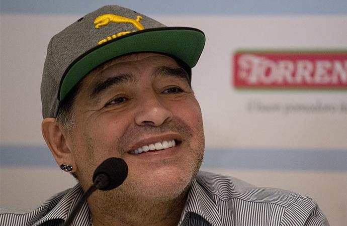 'Kalben Filistinliyim' diyen Maradona'nın ölümü Arap basınında