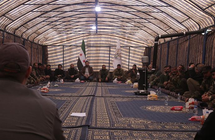 SMO, Tel Abyad'da 'koordinasyon' toplantısı düzenledi