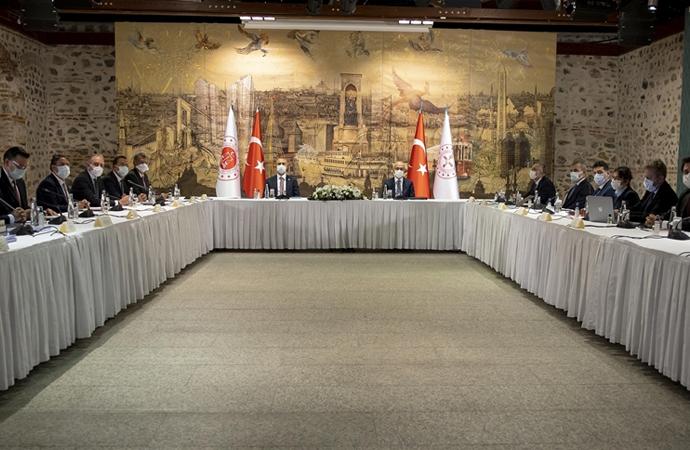 TÜSİAD yönetimiyle basına kapalı toplantı