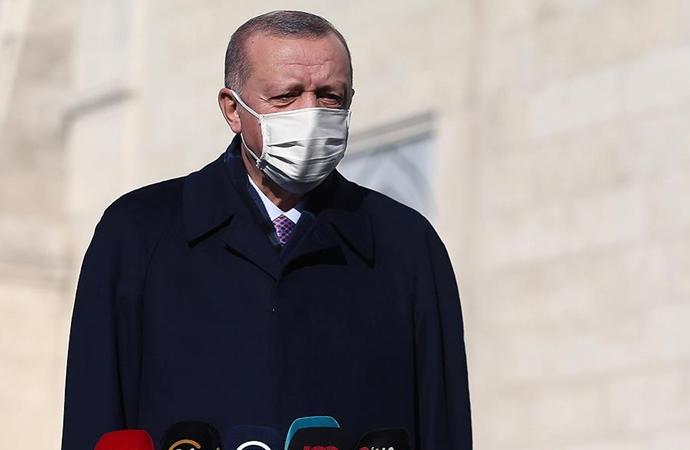 Erdoğan'dan cuma namazı çıkışı açıklamalar