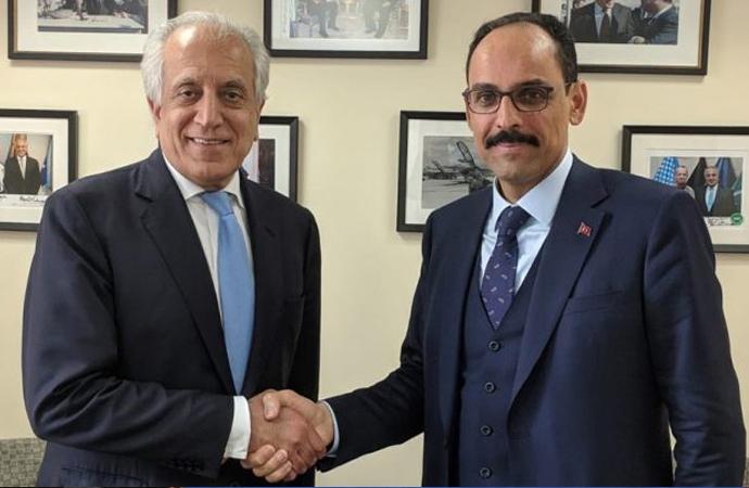 ABD Ankara Büyükelçiliğinden Halilzad'ın Türkiye ziyaretine ilişkin açıklama