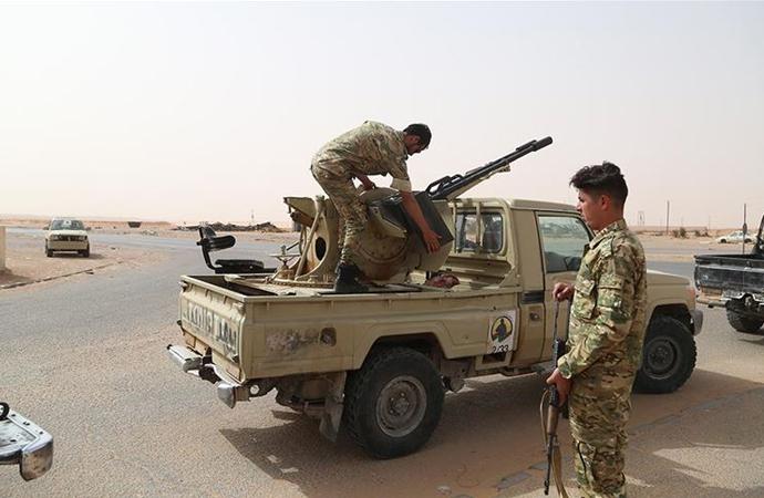 'Sirte eksenindeki Sahil Yolu'nun askerden arındırılması' kararlaştırıldı