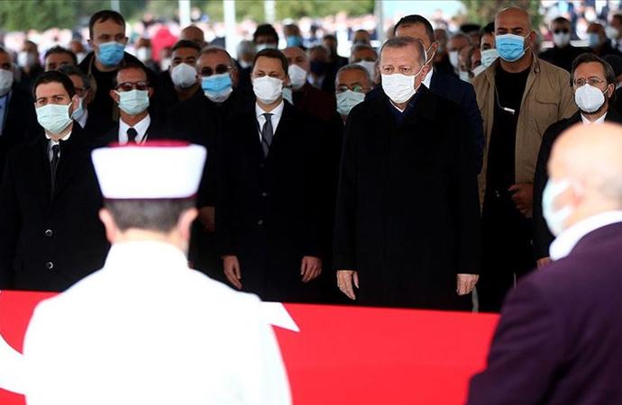 Mesut Yılmaz'ın cenazesine üst düzey katılım