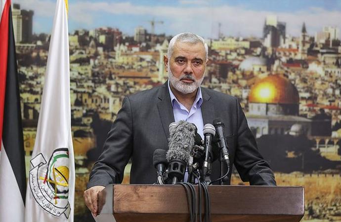 """Hamas'tan Biden'e """"Yüzyılın Anlaşmasından vazgeç"""" çağrısı"""