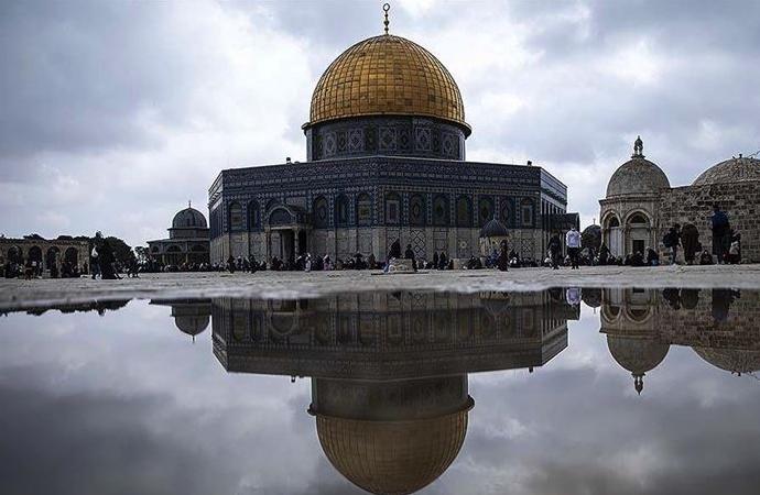 Sanal ortamda, 'Kudüs için Türkiye Alimler Buluşması' etkinliği yapıldı